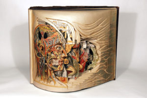 Brian Dettmer, book art